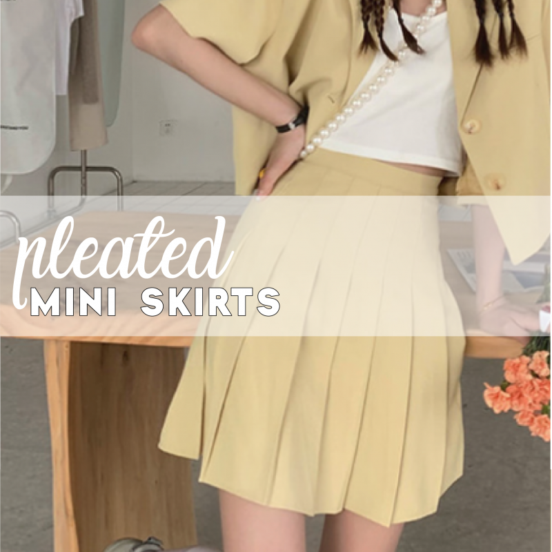 Pleated Skirts style