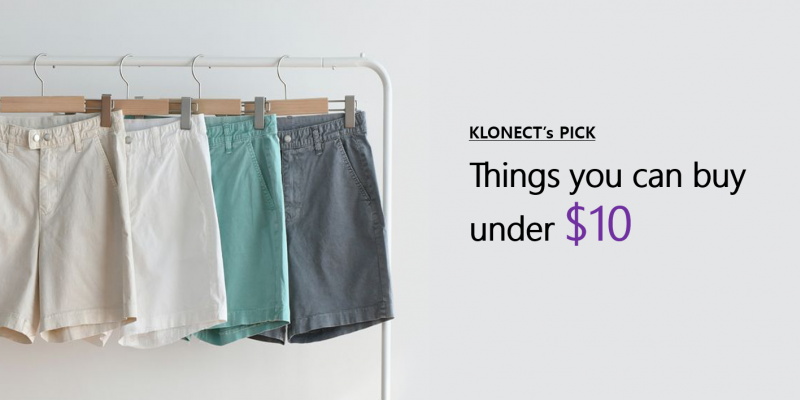 Things you can buy under $10