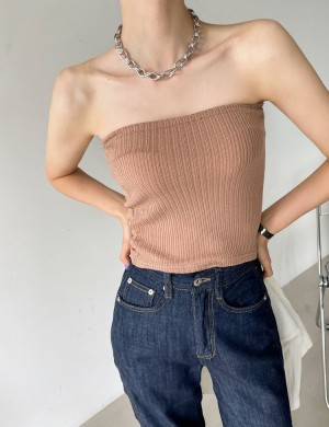 Summer Knit Tube Top