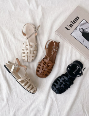 Gladie casual flat jelly sandal