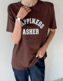 Happiness lettering t-shirt