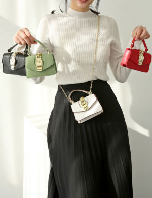 Forever Chained Mini Purse