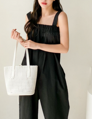 Coma Casual Sleeveless Jumpsuit