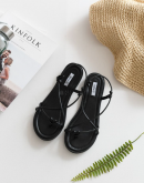 Twined Together Laced Sandals