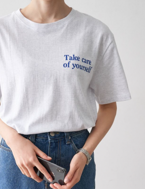 Take care of yourself graphic Tshirt