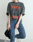 'They Gone' Graphic T-Shirt