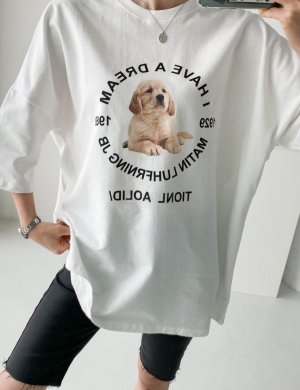 Woof, I Have A Dream Graphic T shirt