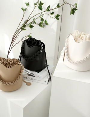 Chained Forever Bucket Bag